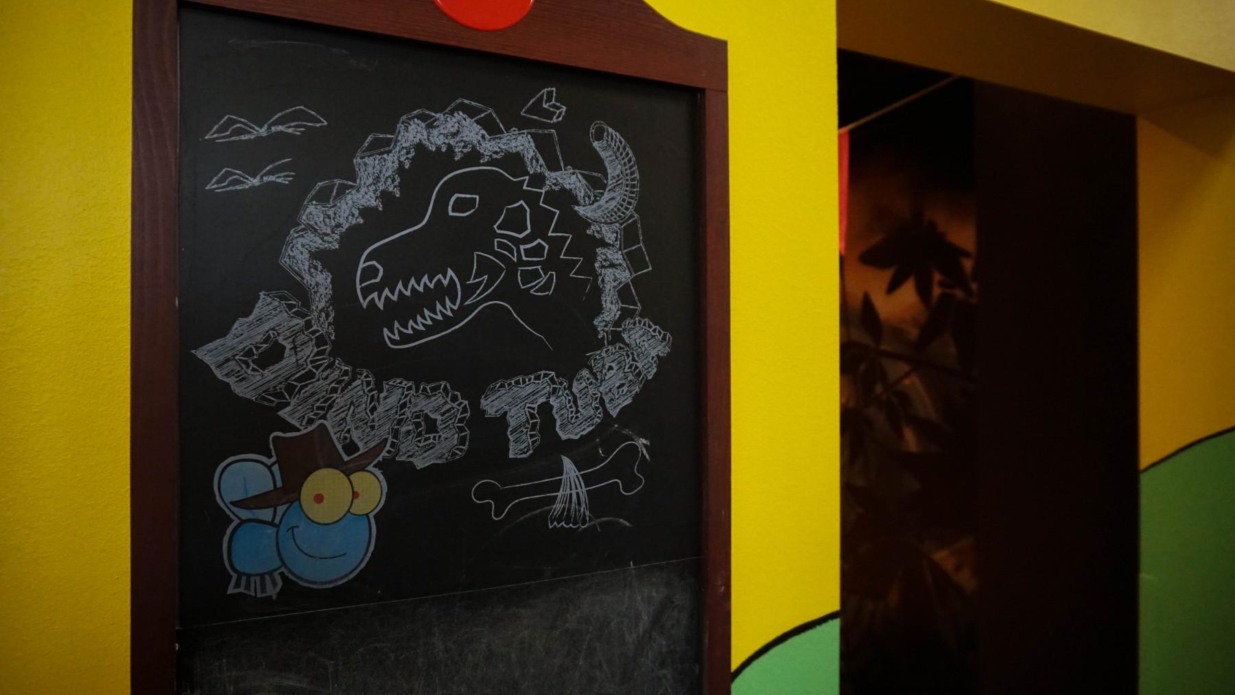 Dino tuba / 20 käepaela / Asub esimesel korrusel